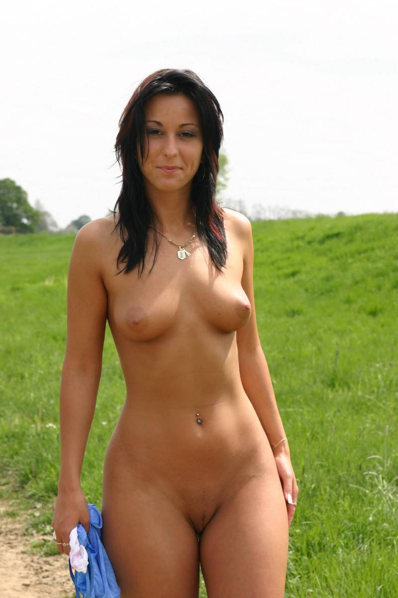 girls public in nude Beautiful