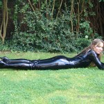 outdoor latex babe